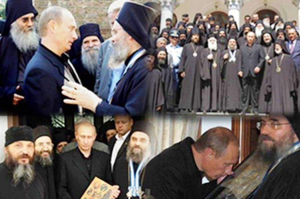 Νέα επίσκεψη Πούτιν στο Άγιο Όρος