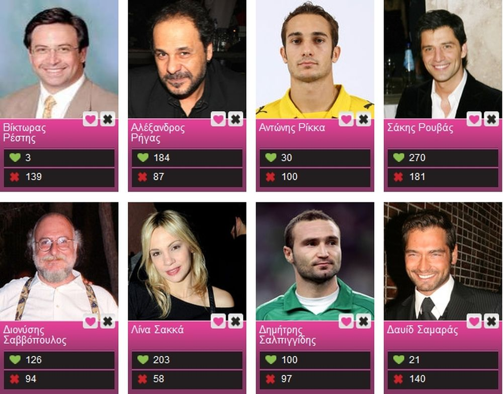 Ψήφισε τον αγαπημένο σου αθλητή και όχι μόνο στο Love/Hate