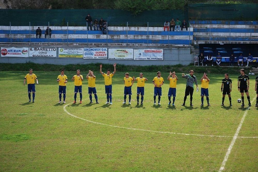 Εθνικός Φιλιππιάδας-Φιλοθέη Άρτας 0-1