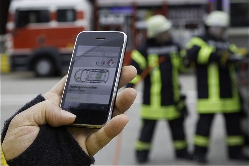Η Opel Αυξάνει τον Όγκο Πληροφόρησης Δεδομένων Διάσωσης