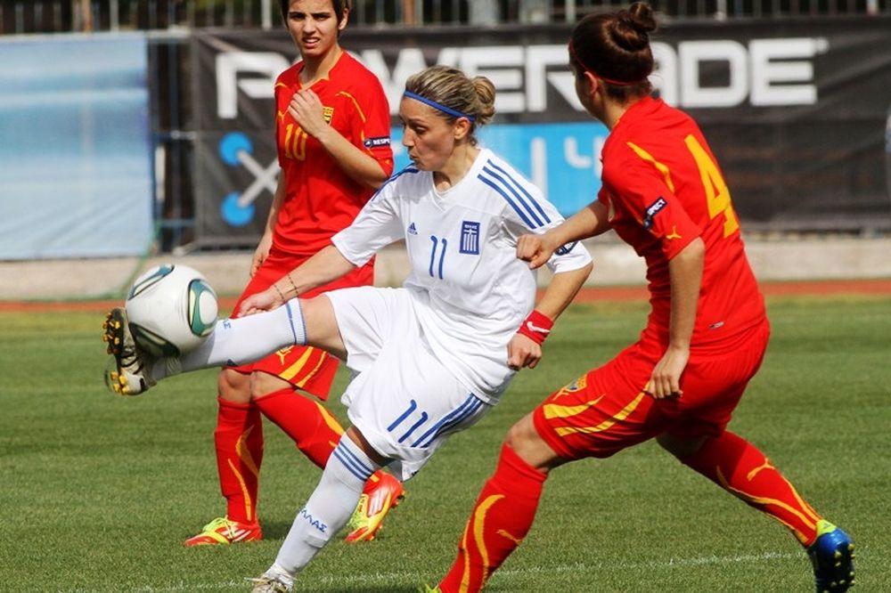 Αδίκησε τον εαυτό της η Ελλάδα, 2-2 με Σκόπια