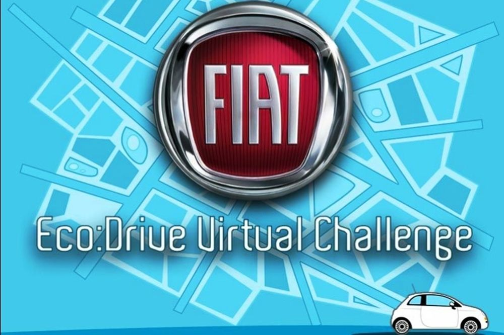 Fiat eco: Drive Virtual Challenge