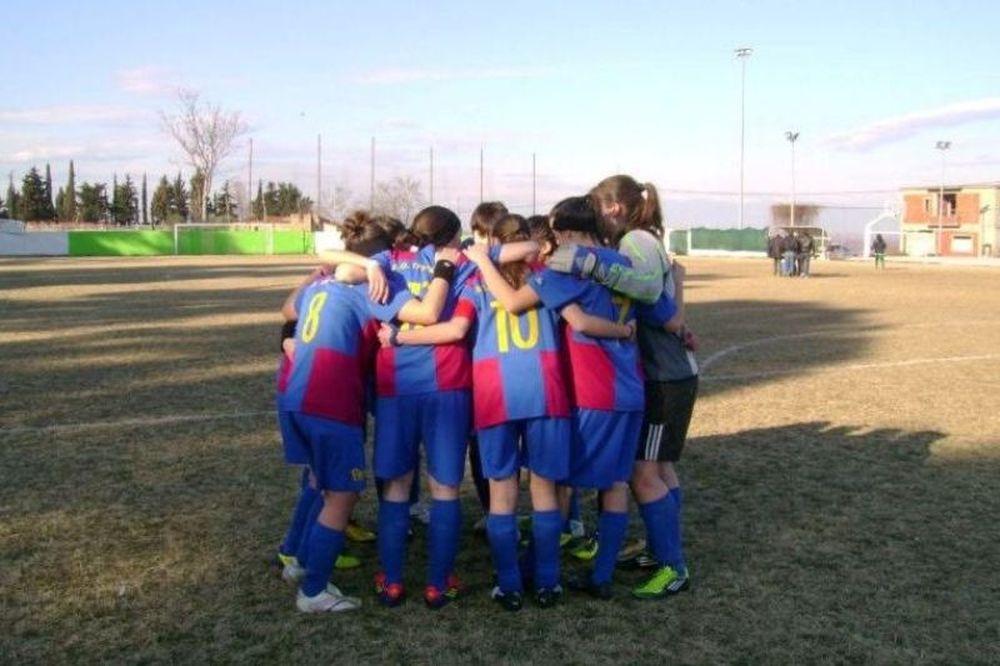 Στήριξη από Τρίκαλα για την προβολή του γυναικείου ποδοσφαίρου