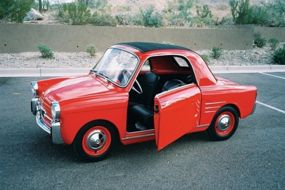 Η ιστορία του Autobianchi Bianchina 500 Transformabile