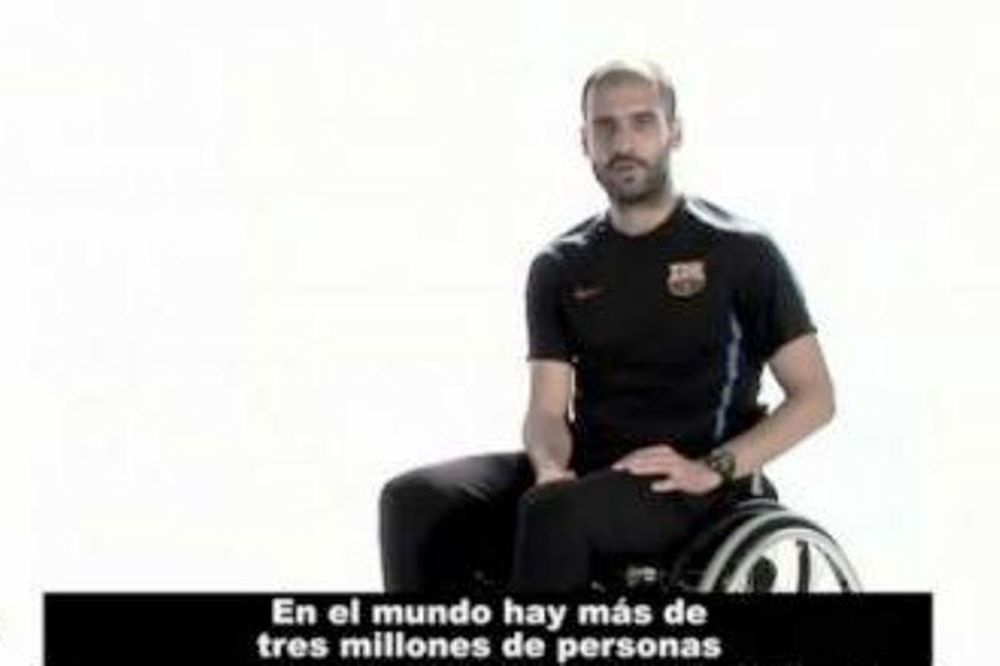 Ο Γκουαρντιόλα σε καροτσάκι (video)