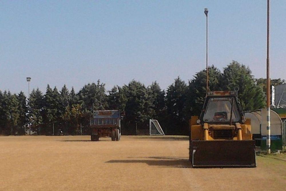 Ανακαινίζουν το γήπεδο στην Αργυρούπολη