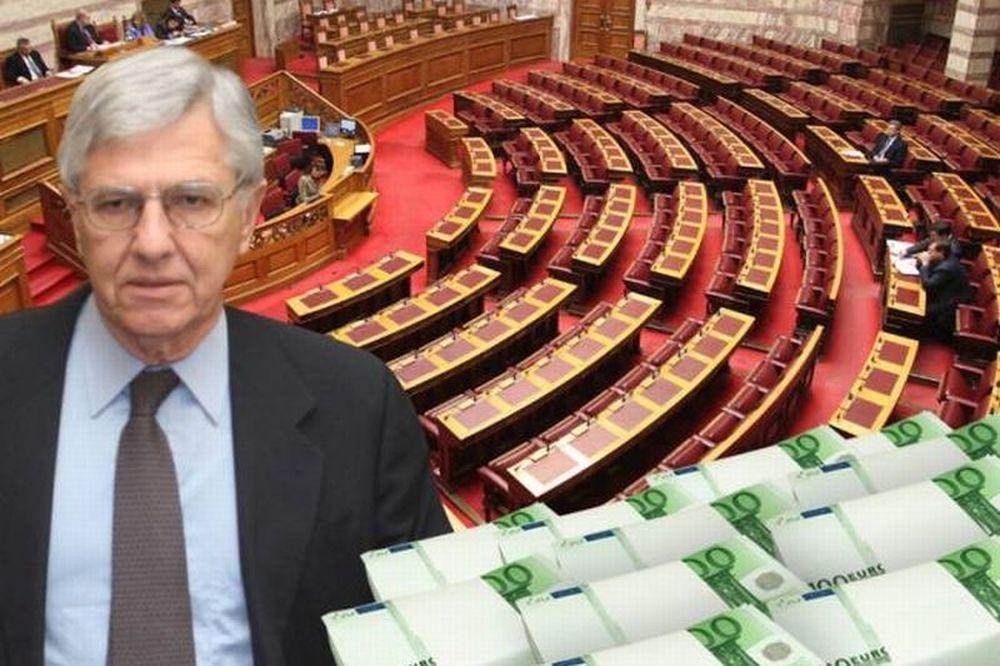Τροπολογία ντροπή «γεμίζει» τα ταμεία των κομμάτων