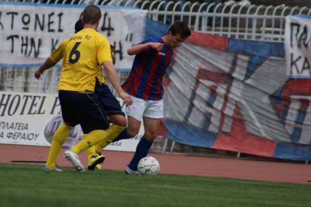 Τρίκαλα - Μεσολόγγι 1-0