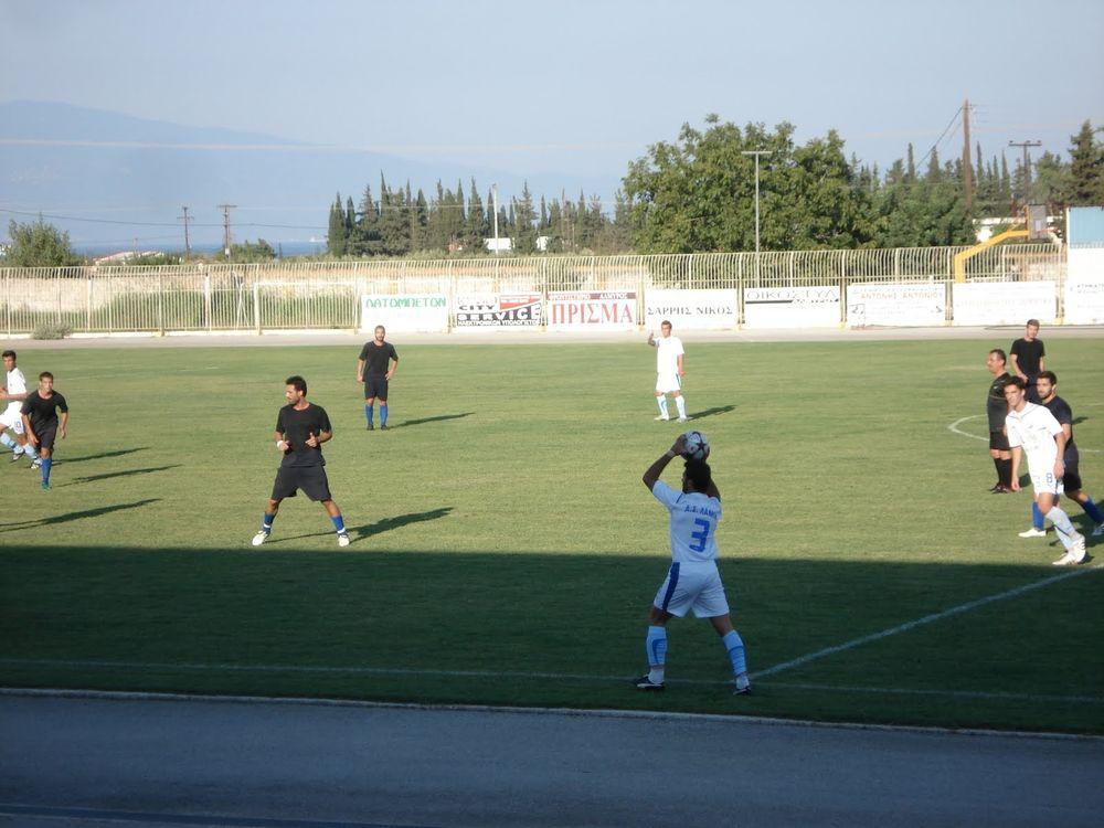 Αμπελωνιακός - Αλμυρός 0-0