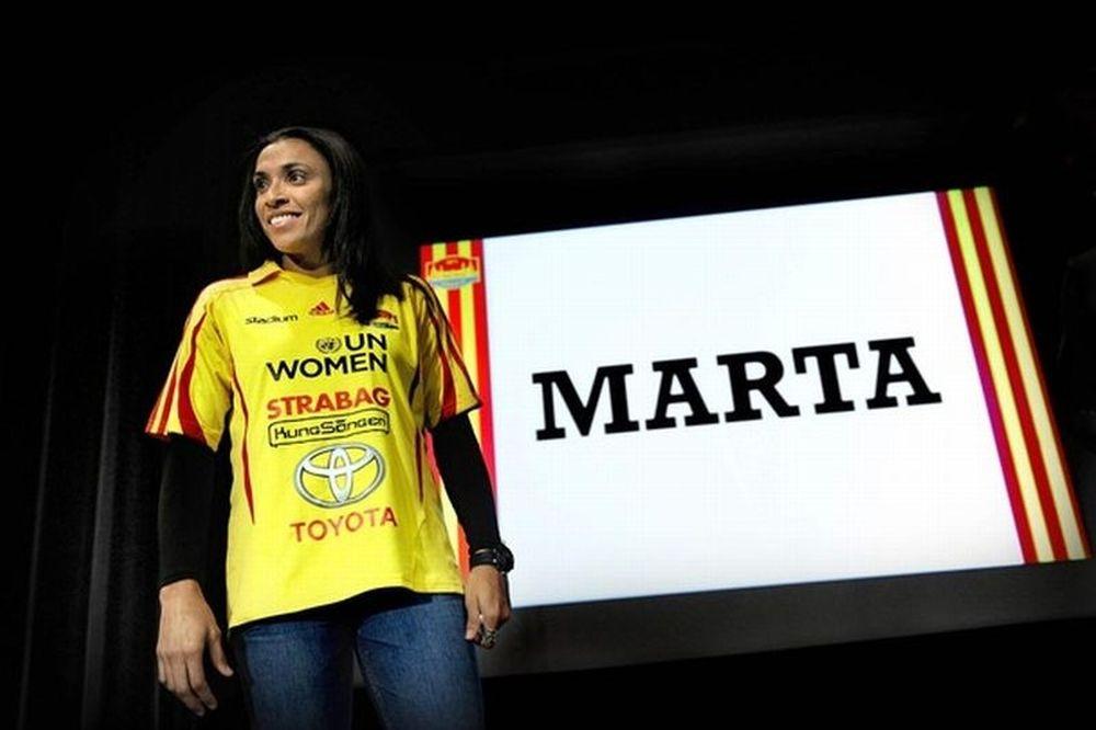 Το εκπληκτικό γκολ της Μάρτα!