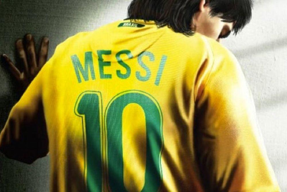 Ο Μέσι είναι Βραζιλιάνος! (photos)
