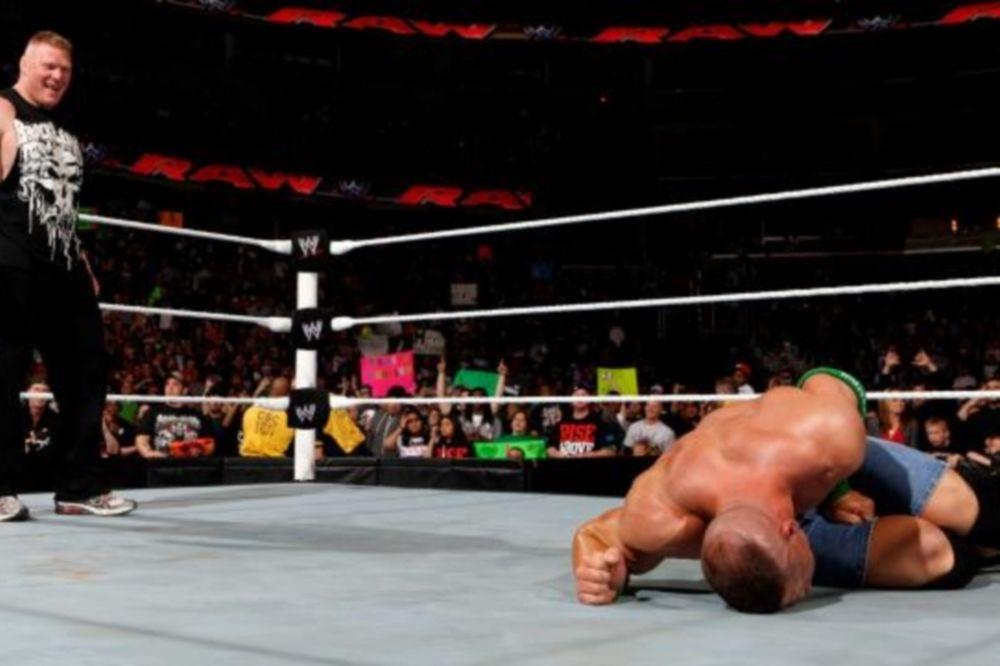 Cena vs Lesnar στο Extreme Rules