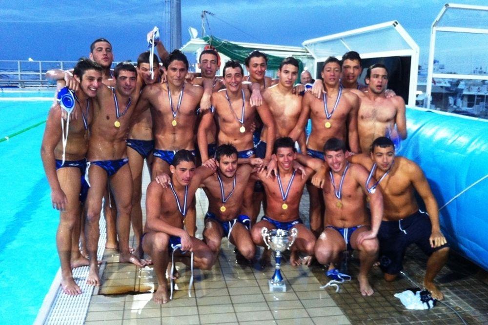 Πρωταθλήτρια Ελλάδας στους Νέους άνδρες η Βουλιαγμένη (photos)