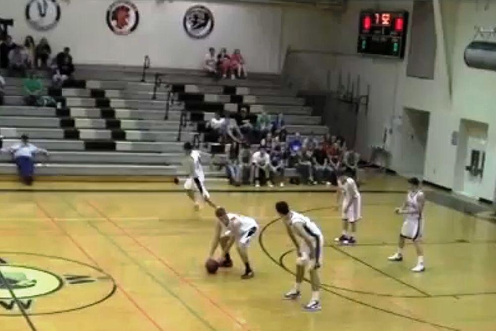 Αμερικάνικο… μπάσκετ! (video)