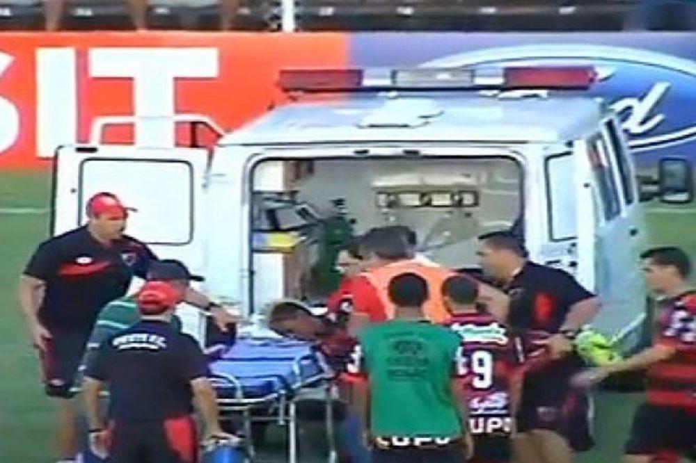 Κατέρρευσε ποδοσφαιριστής στη Βραζιλία! (video)