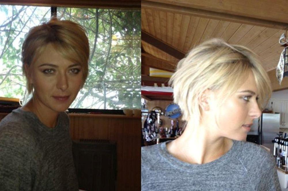 Με κοντό μαλλί η Σαράποβα!