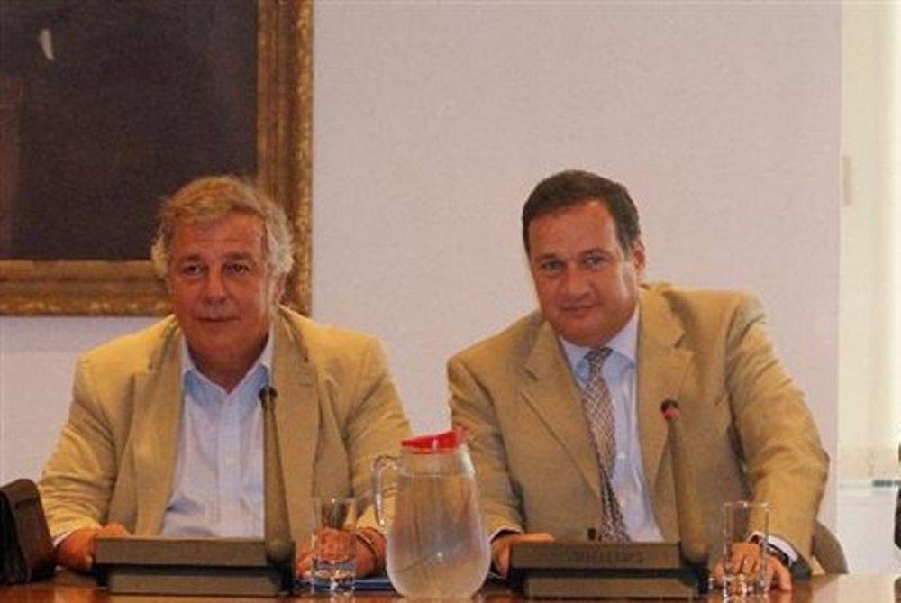 Καπράλος, Μπιτσαξής στην συνδιάσκεψη των ολυμπιακών επιτροπών