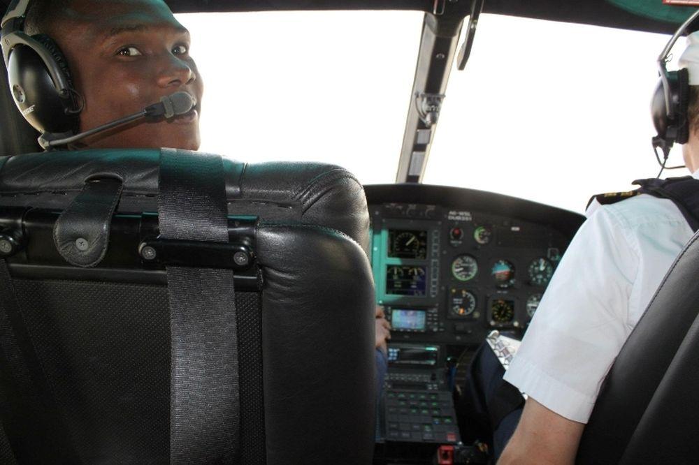Ο Σιμάο, πιλότος!