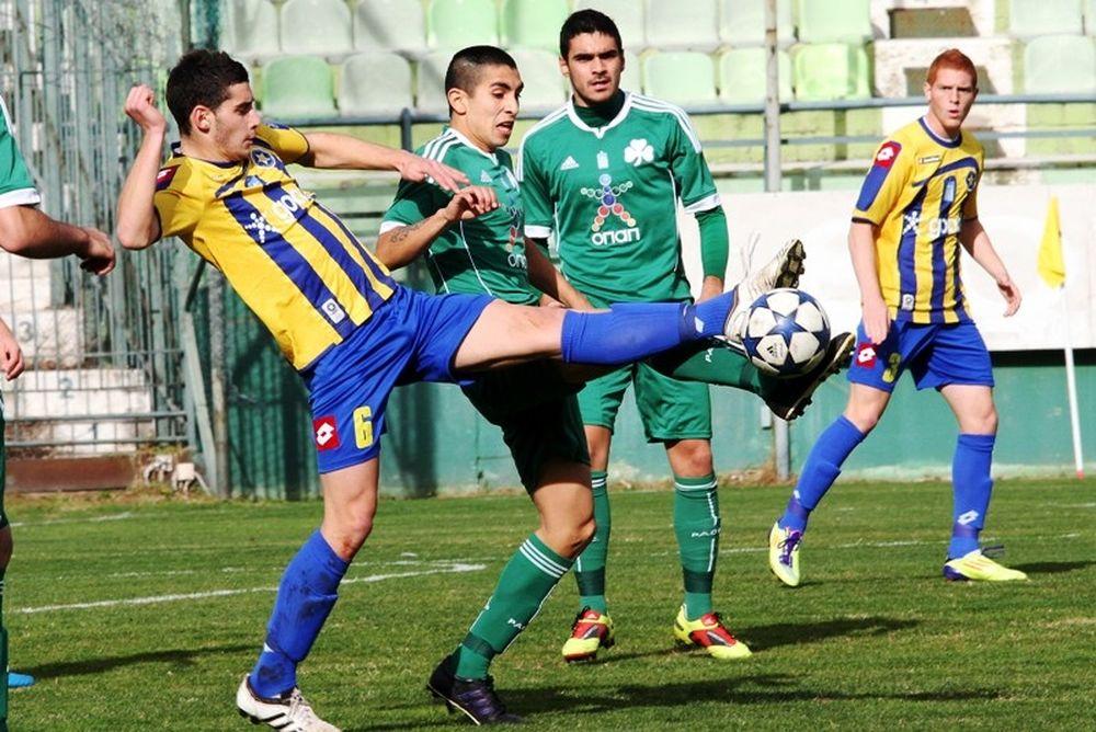 Αστέρας Τρίπολης-Παναθηναϊκός 3-1 (Κ20)