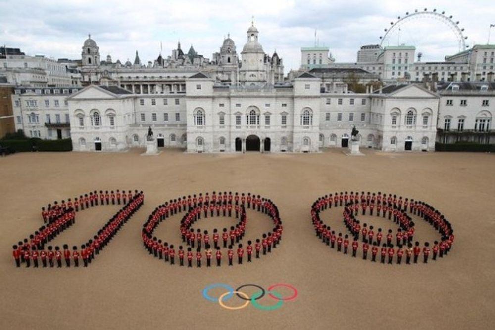 Εκατό ημέρες πριν την έναρξη των Αγώνων στο Λονδίνο