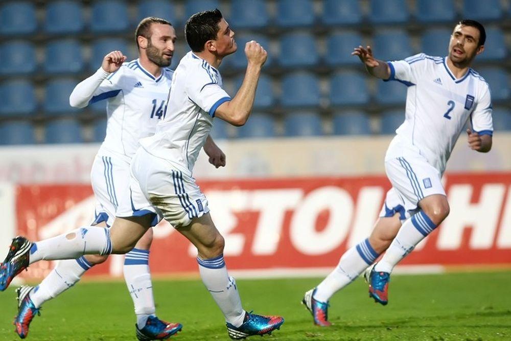 Euro 2012: Ελλάδα δύο ταχυτήτων με Αρμενία (photos+videos)