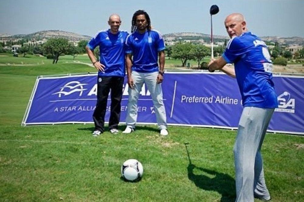 Για γκολφ με Τζόρτζεβιτς, Καρεμπέ και Γκώνια! (photos)