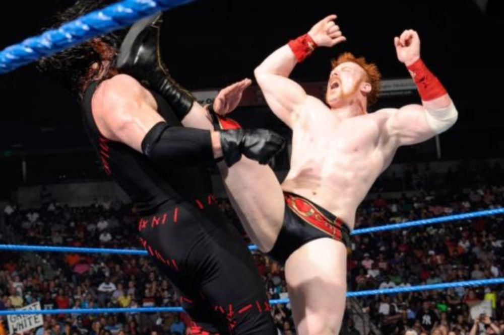 «Οδοστρωτήρας» Sheamus στο SmackDown