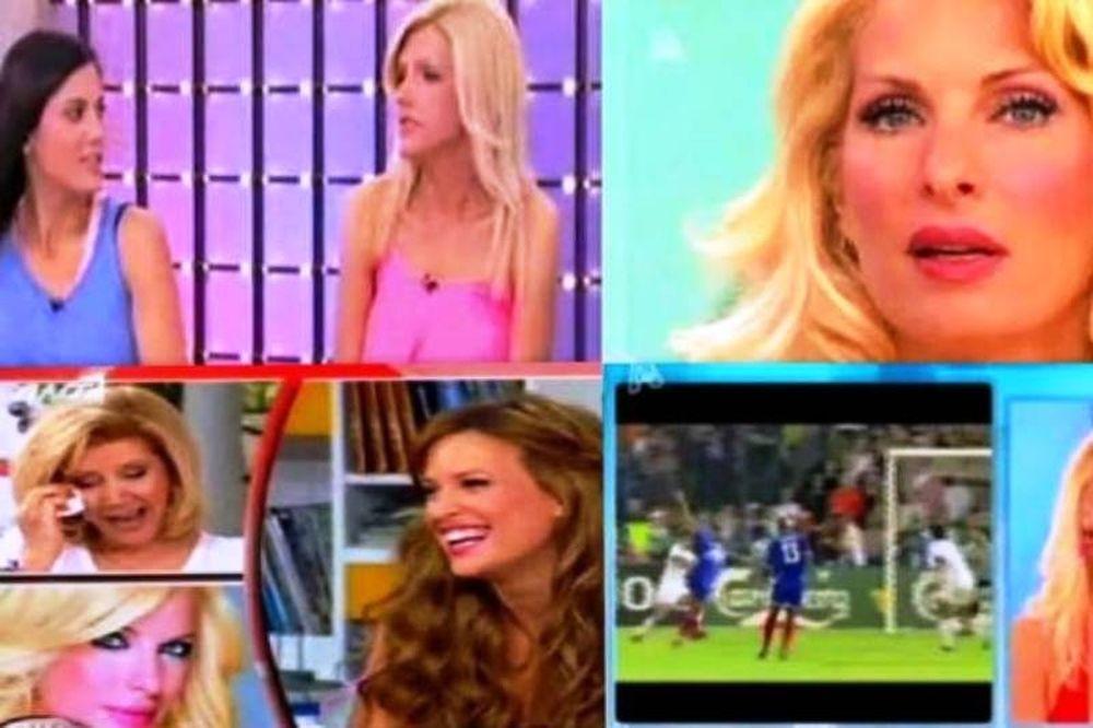 Top Videos: Το γυμνό της Σάσας, το σ' αγαπώ της Μενεγάκη, μια γκάφα και ένα διάγγελμα