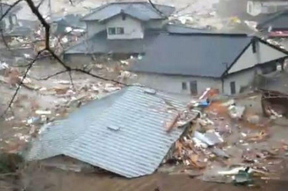 Νέο βίντεο - σοκ από το τσουνάμι της Ιαπωνίας