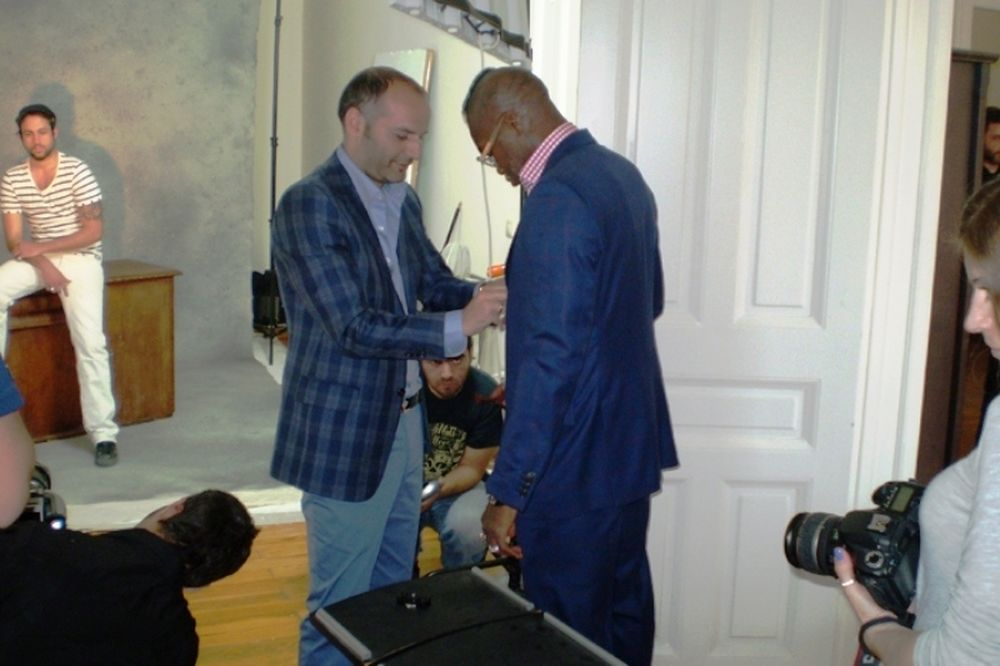 Ένας ράφτης με «οπαδούς» τον Σισέ και τον Ίβκοβιτς