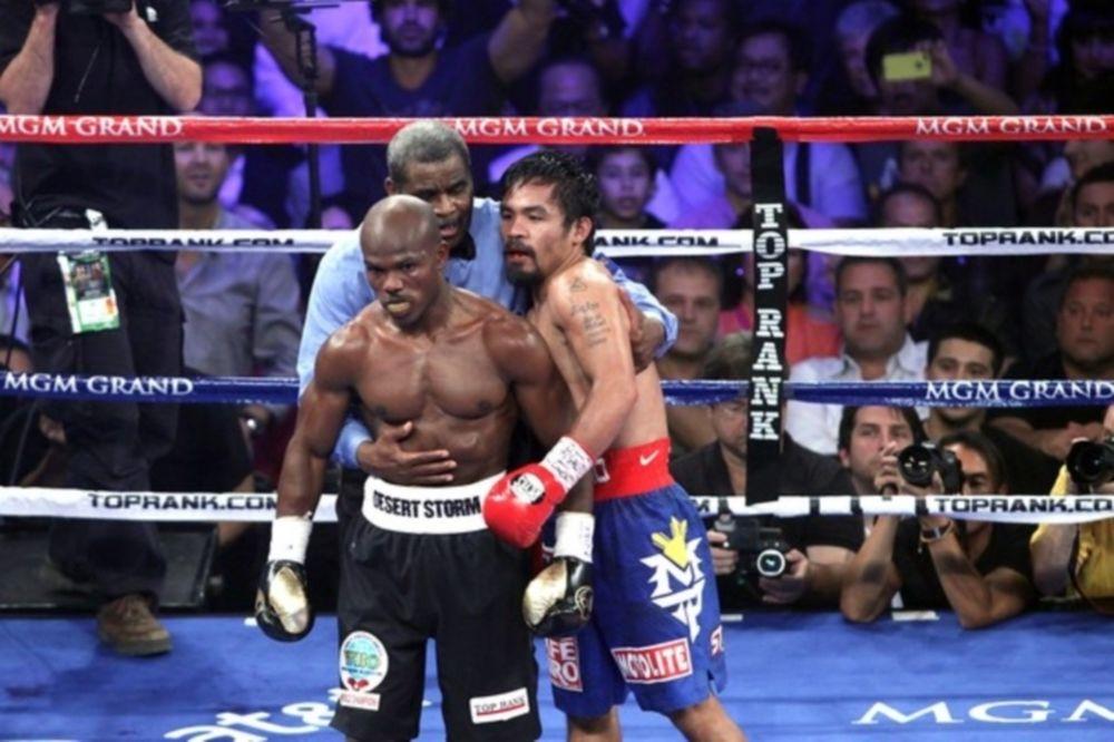 Επανέλεγχος του «Pacquiao vs Bradley»