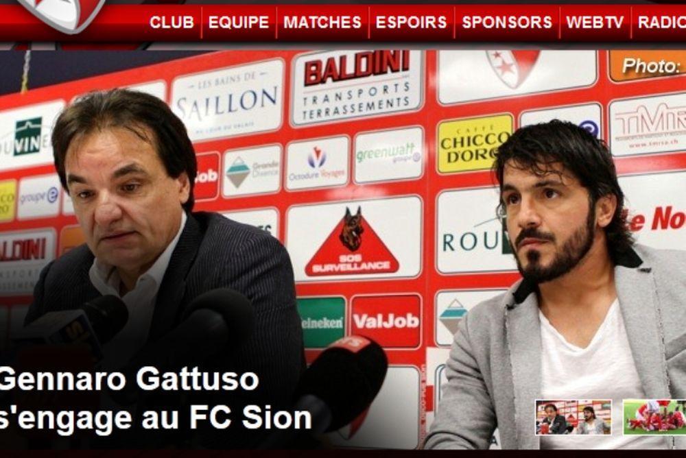 Υπέγραψε στη Σιόν ο Γκατούζο!