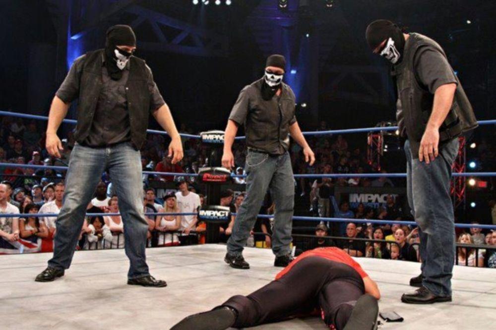 Τρεις παρείσακτοι στο Impact Wrestling