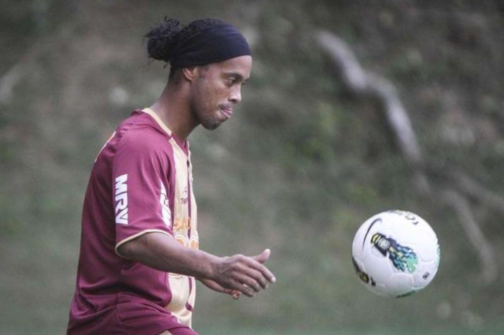 Ροναλντίνιο: «Νιώθω καλά στην Ατλέτικο»