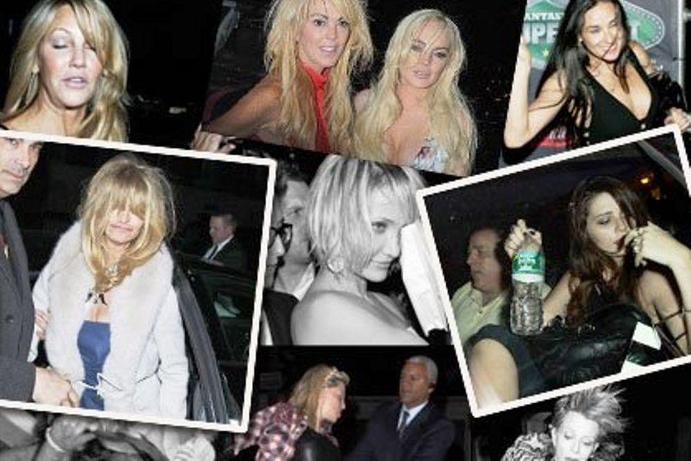Δείτε τους διάσημους star μεθυσμένους