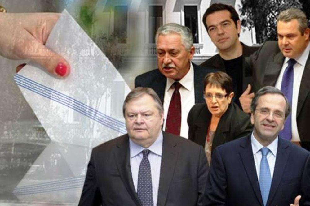 Εκλογές 2012: Στιγμές χαλάρωσης για τους πολιτικούς αρχηγούς!