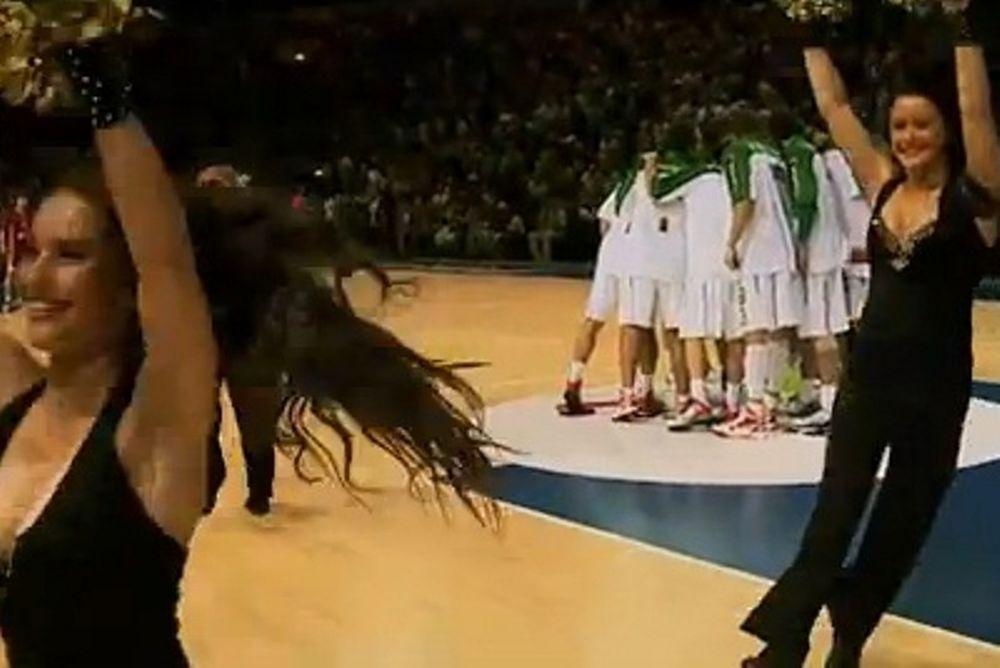 Το παιχνίδι της Λιθουανίας και οι cheerleader της Κλαϊπέντα (video)