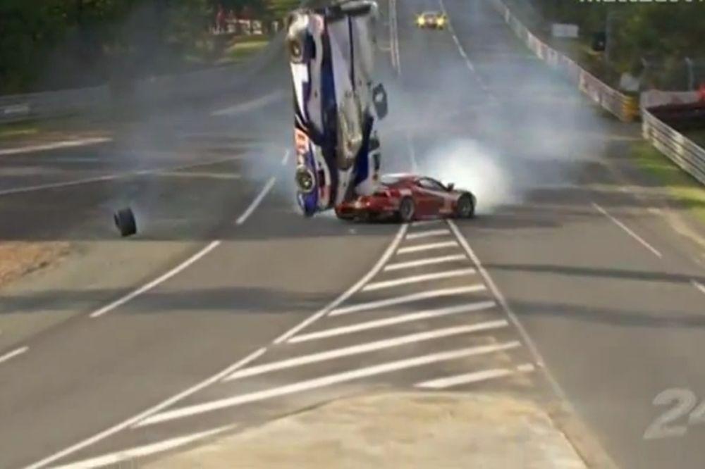 Ατύχημα που κόβει την... ανάσα στο Λε Μαν! (video)