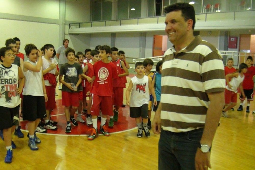 Ξεκίνησε το 2ο Olympiacos Summer Basketball Camp (video)