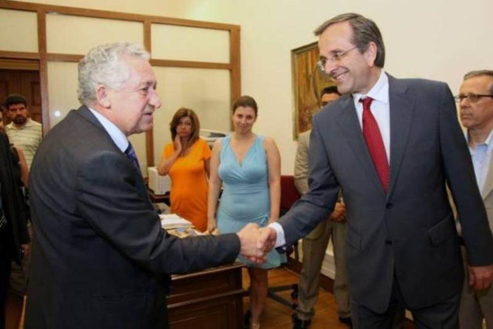 Α. Σαμαράς: Η συζήτηση με τον κ. Κουβέλη ήταν εποικοδομητική