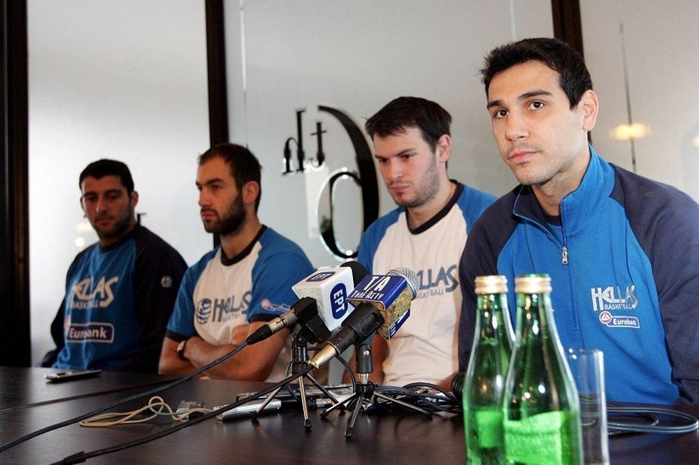 Εθνική: Μπαίνουν οι τρεις «Ιταλοί» και ο Σπανούλης