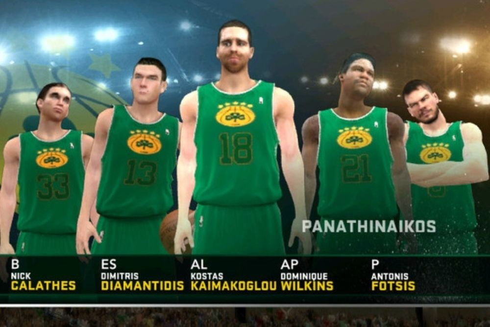 Ο Παναθηναϊκός στο… NBA 2K12!