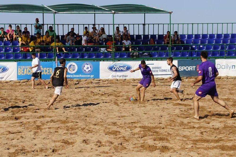 Το θέαμα δεν σταματά ποτέ στο Πανελλήνιο πρωτάθλημα Beach Soccer!