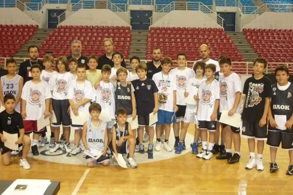 Ολοκληρώθηκε η 1η περίοδος του PAOK Basketball Camp