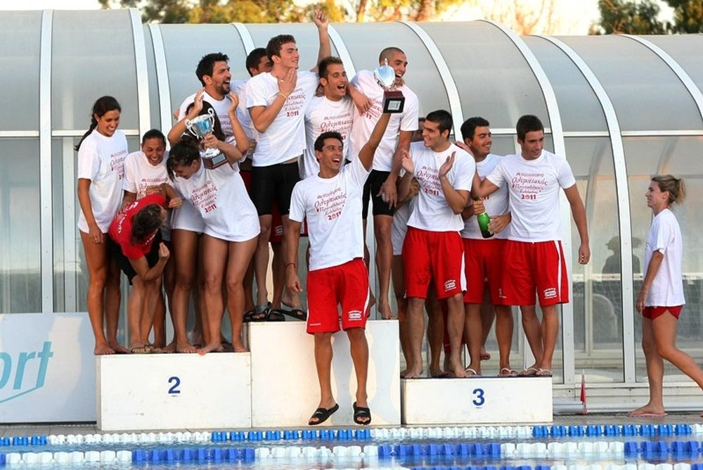 Κολύμβηση: Πρωταθλητής για 53η φορά ο Ολυμπιακός!