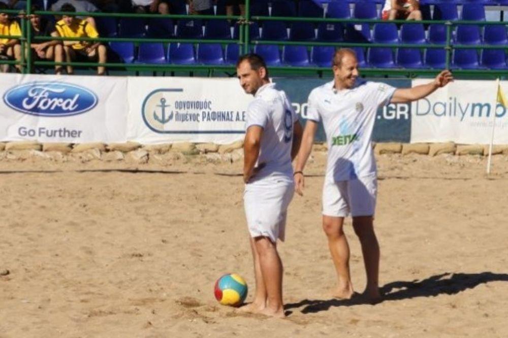 Στη… σέντρα το πρώτο Πανελλήνιο πρωτάθλημα Beach Soccer