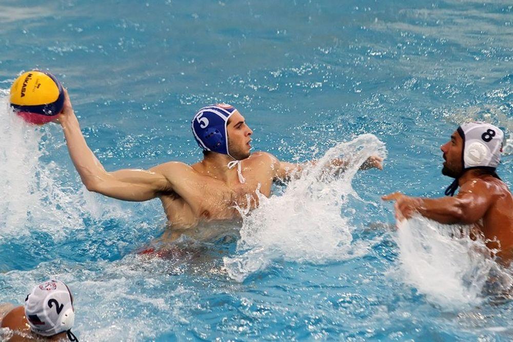 Πόλο: Ισόπαλη η Εθνική ανδρών με την Ιταλία (7-7)