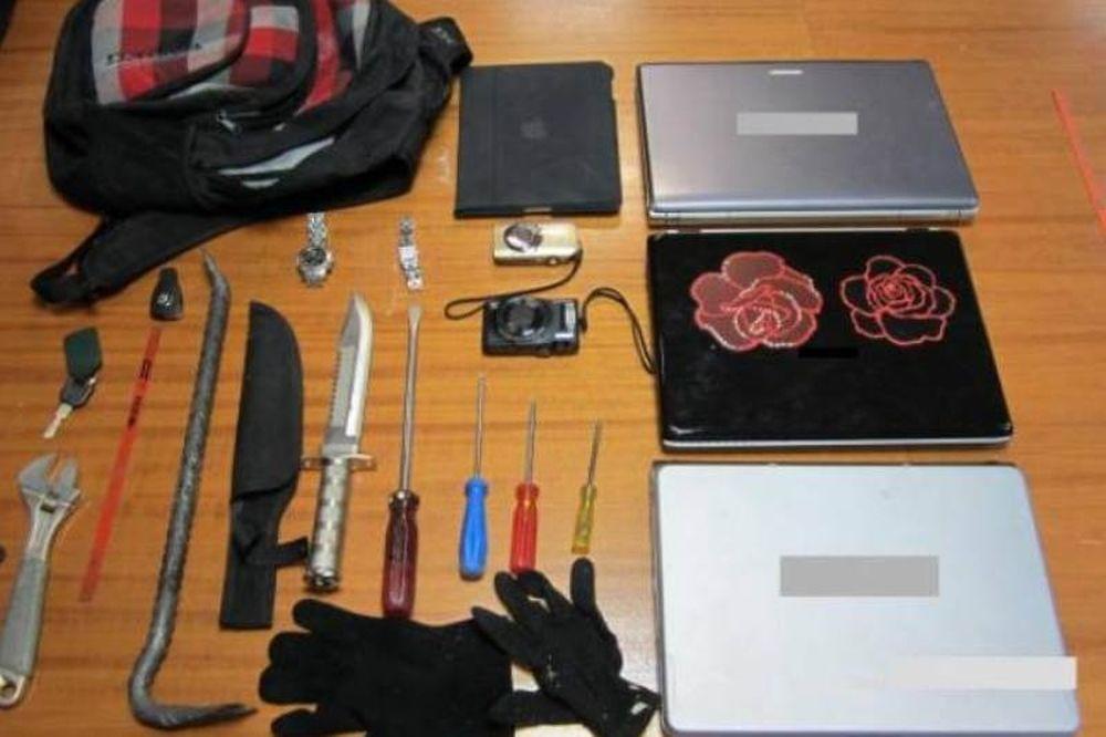 Επαγγελματίες και άκρως επικίνδυνοι οι διαρρήκτες του Δώνη (photos)