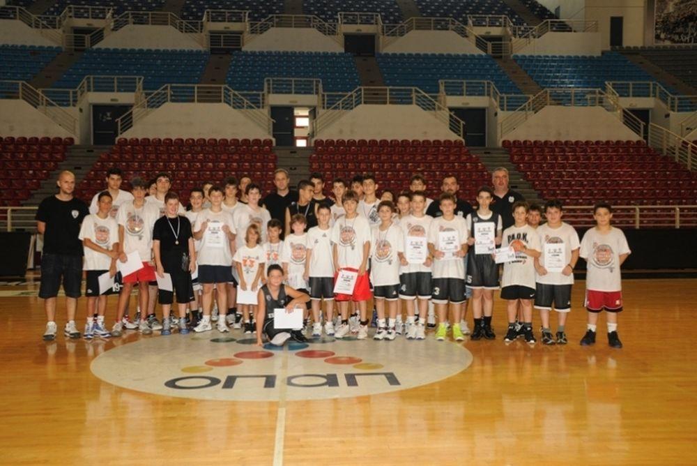 Ολοκληρώθηκε το PAOK Summer Basketball Camp