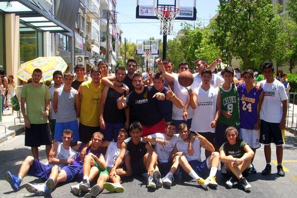 Σε ρυθμούς «3on3 streetball» ζει το Ηράκλειο (photos)